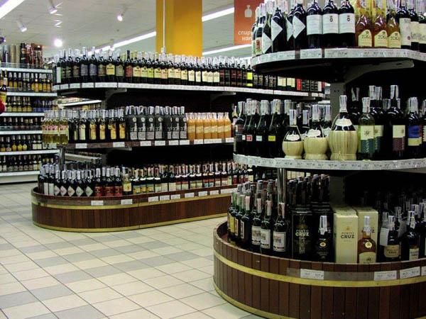 алкоголь в розницу